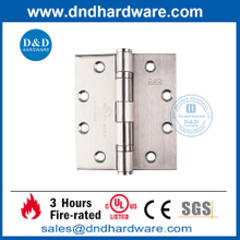 Stainless Steel 304 Ball Bearing Fire Door Hinge with UL Listed- DDSS002-FR-4.5X4X3.4