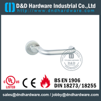 Grade 316 Mitred U Shape Front Door Handle for Hotel Single Doors-DDTH024