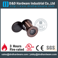 Security Door Eye Viewer with cover for Fire Resistant Door with UL Listed–DDDV005