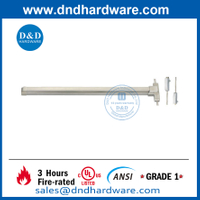 Stainless Steel 304 UL ANSI Fire Rated Vertical Rod Exit Device-DDPD006