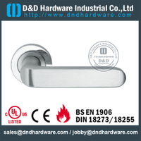 Antirust fancy solid door handle for Entrance Door- DDSH201