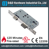 Stainless Steel Sash Lock with CE for Fire-rated Door -DDML6072SL