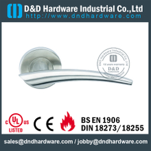 Cast Solid Stainless Steel Lever Handle for External Doors-DDSH079