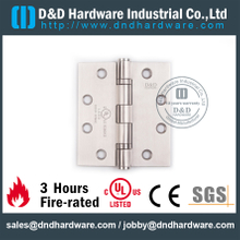 SS 316 UL Fire Rated Door Hinge for Metal Door-DDSS001-FR-4.5x4x3.0mm